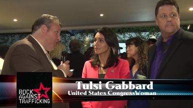 Congresswoman Tulsi Gabbard Talks About Human Trafficking