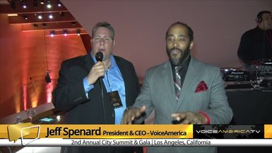 Jeff Spenard Interviews Sekou Andrews at the City Summit