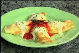 Shrimp and Blue Crab Crepes