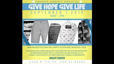 Give Hope Luncheon Event Sept. 7th