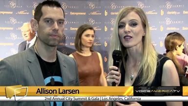 Allison Larsen Interviews Tom Bilyeu at the City Summit