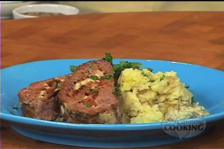Meatloaf Stuffed with Blue Cheese