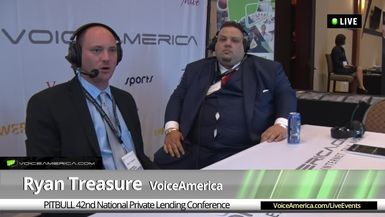 Mitch Valmer at the 42nd National Hard Money Conference Live Broadcast