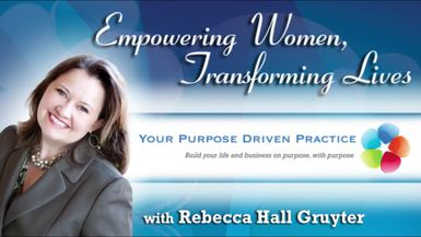 Visit VoiceAmerica with Rebecca Hall Gruyter