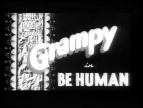 Betty Boop and Grampy - in be Human