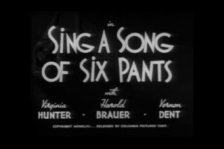 The Three Stooges : Sing a Song of Six Pants