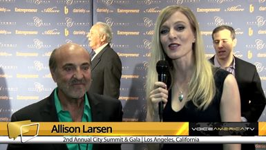 Allison Larsen Interviews David Corbin at the City Summit