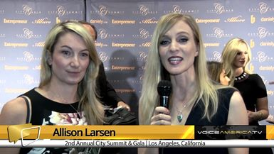 Allison Larsen Interviews Nicola Smith at the City Summit