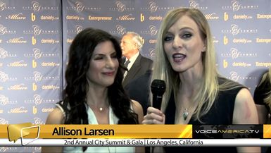 Allison Larsen Interviews Valerie Rose at the City Summit