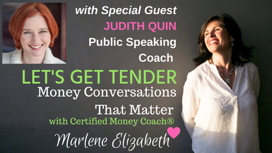Let's Get Tender with Special Guest Judith Quin