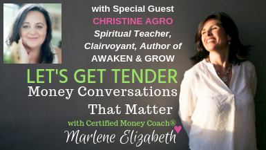 Let's Get Tender with Special Guest Christine Agro