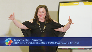 Step Into Your Brilliance, Your Magic, and SHINE!
